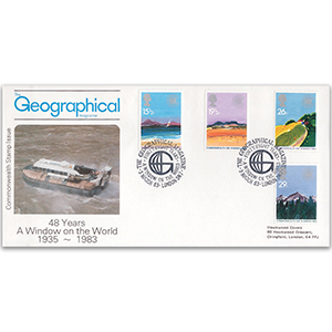 1983 Commonwealth Day - Geographical Magazine Official