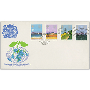 1983 Commonwealth Day - Royal Mail FDC - House of Commons CDS