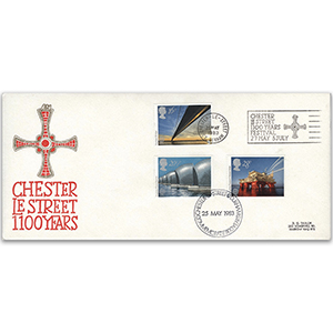 1983 Engineering, Chester-le-Street official + slogan