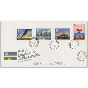 1983 Europa: Engineering Achievements - Rigside CDS