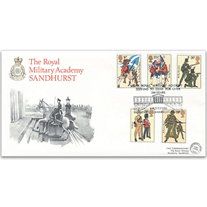 1983 British Army Uniforms - Royal Military Academy Sandhurst Official