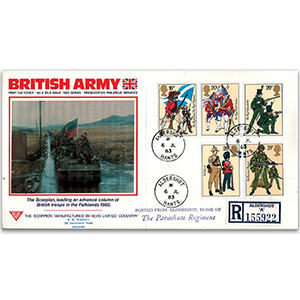 1983 British Army Uniforms - PPS Aldershot CDS