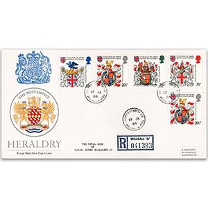 1984 Heraldry - Queen Elizabeth Ave. CDS