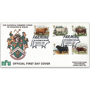 1984 British Cattle - National Farmer's Union Official