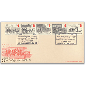 1984 Mail Coach 200th - Islington Society