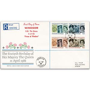 1986 Queen's 60th Birthday - Windsor CDS