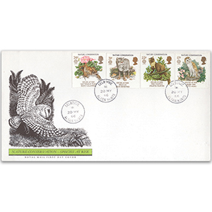1986 Nature Conservation - Royal Mail FDC - Selborne CDS