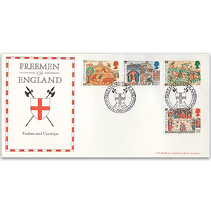 1986 Medieval Life Freemen Of England Official