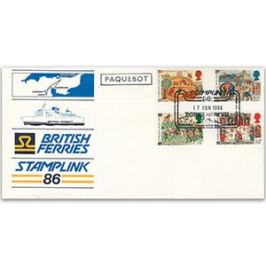 1986 Medieval Life Stamplink Official