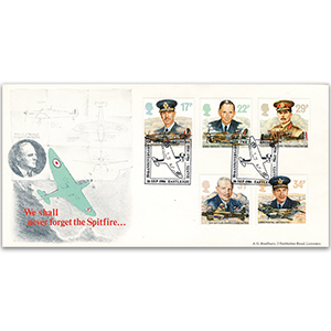 1986 RAF - Bradbury Spitfire Official