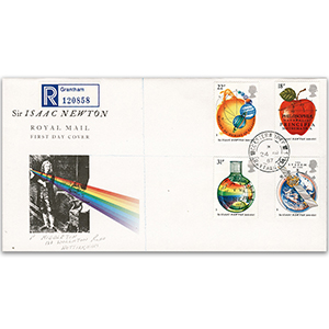 1987 Isaac Newton Anniversary - Colsterworth CDS