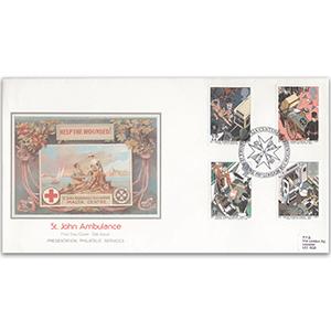 1987 St. John Centenary Enhibition h/s P.P.S. special cover