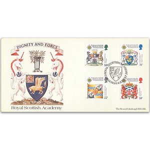 1987 Revival of Order of the Scottish Thistle 300th - Royal Scottish Academy Cover