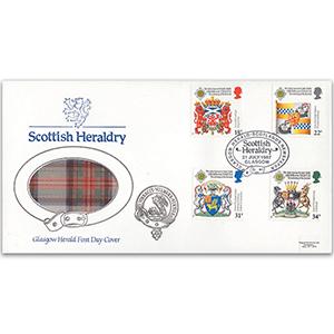 1987 Scottish Heraldry - Glasgow Herald Pilgrim Official