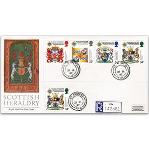 1987 Scottish Heraldry: St. Andrews, Fife Double-Ring CDS