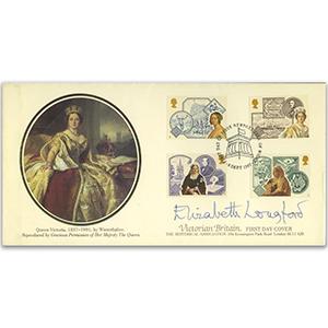 1987 Victorian Britain - Newport, Isle of Wight FDI - Signed by Lady Elizabeth Longford