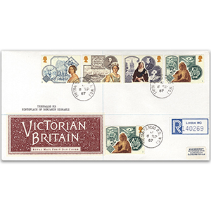 1987 Queen Victoria Accession 150th - Theobold's Road WC1 CDS