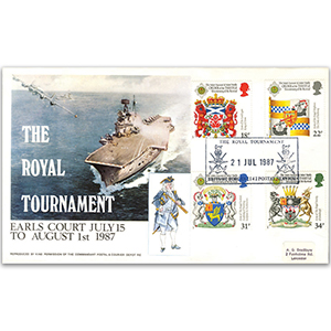 1987 Heraldry Forces Official The Royal Tournament BFPS 2142 H/S