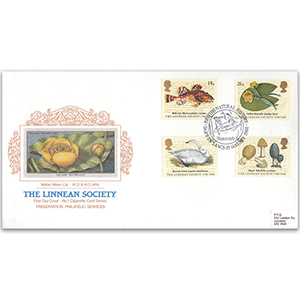 1988 Linnean Society 200th - Cigarette Card Series No.1 - Darwen