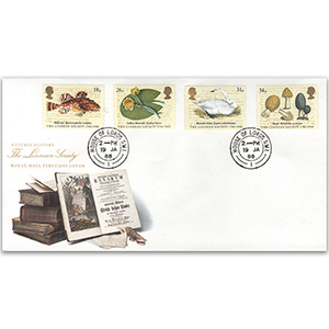 1988 Linnean Society 200th - House of Lords Double-Ring CDS, Royal Mail FDC