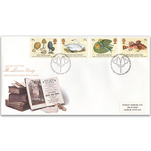 1988 Linnean Society 200th - Royal Mail FDC - Philatelic Bureau, Edinburgh