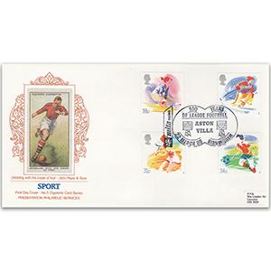 1988 Sports - Aston Villa H/S - Cigarette Card Series