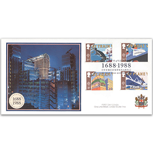 1988 Europa: Transport and Mail Services - Lloyd's of London Covercraft Official