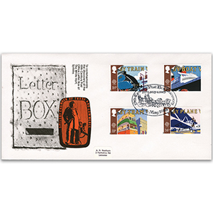 1988 Europa: Transport and Mail Services - Letter Box Discovery - Spilsby Official