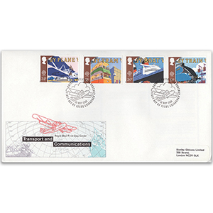 1988 Europa: Transport and Mail Services - British Philatelic Bureau, Edinburgh