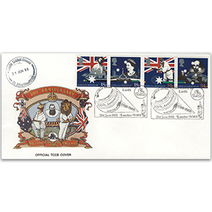 1988 Australian Settlement Bicentenary - Test & County Cricket Board Official