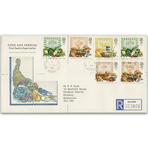 1989 Food & Farming Year Windsor Castle cds