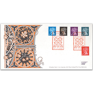 1990 Penny Black Anniversary - Etchingham Church Official - Etchingham Stamp Festival Cancellation