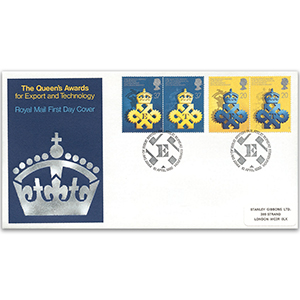 1990 Queen's Award 25th Royal Mail Cover - Edinburgh