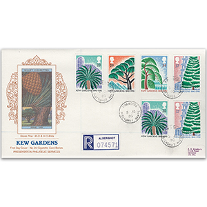 1990 Kew Gardens 150th - Cigarette Card Series No. 24 - Pinewoods CDS