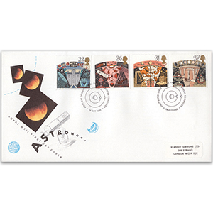 1990 Astronomy Royal Mail FDC - Edinburgh