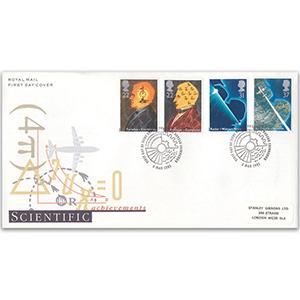 1991 Scientific Achievements - Philatelic Bureau, Edinburgh
