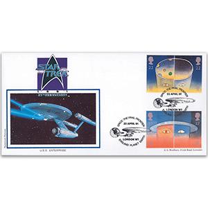 1991 Europe in Space - Star Trek official