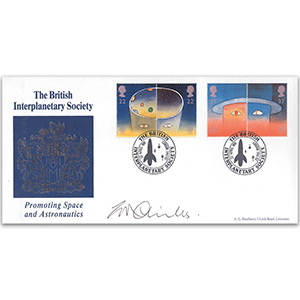 1991 Europe In Space Jodrell Bank Off - Signed Childs