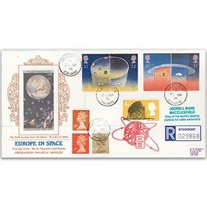 1991 Europe in Space - Cigarette Card Series No. 32 - Macclesfield CDS