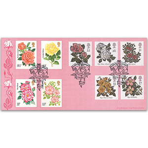 1991 Roses - Roses on Stamps Official