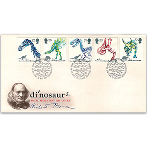 1991 Dinosaurs Royal Mail FDC - Edinburgh Philatelic Bureau