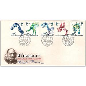 1991 Dinosaurs Royal Mail FDC - Edinburgh Philatelic Bureau