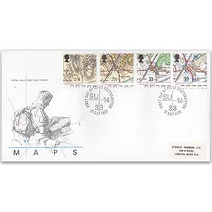 1991 Maps - Southampton