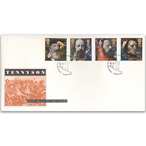 1992 Tennyson Death Centenary Royal Mail FDC - Isle of Wight