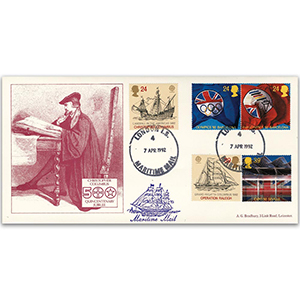1992 International Events - Columbus 500th - London Maritime Mail CDS