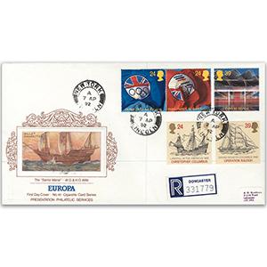 1992 Europa Cigarette Card series New York cds