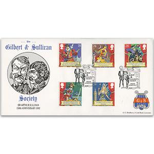 1992 Gilbert & Sullivan - G & S Society Official - Strand, London