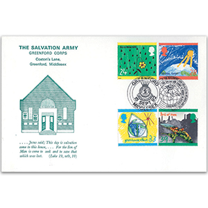 1992 Protection of the Environment - Salvation Army, Greenford Corps Official