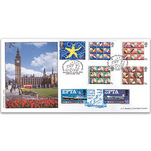 1992 Europe Downing Str. h/s special cover