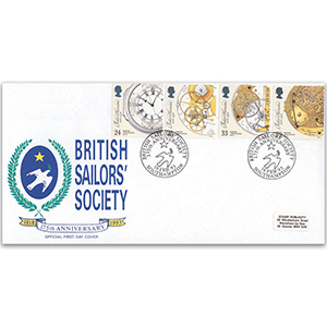 1993 Marine Timekeepers - British Sailors' Society Official